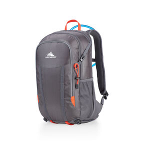 High Sierra HydraHike 24L Pack in the color Mercury/Redline.
