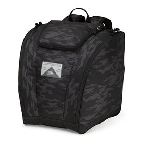High Sierra Trapezoid Boot Bag in the color Stealth/Black.