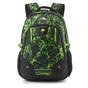 Zestar Backpack in the color Lime Fire/Black.