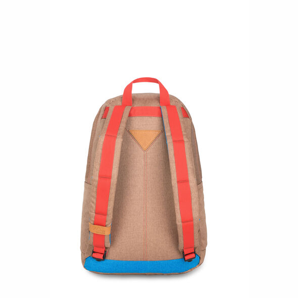 High Sierra HS78 Tear Drop Backpack in the color Coconut/Sky/Red Rock.