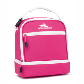 High Sierra Stacked Compartment in the color Flamingo/White.