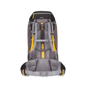 Pathway 60L Pack in the color Black/Slate/Gold.