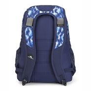 High Sierra Loop Backpack in the color Island Ikat/True Navy.