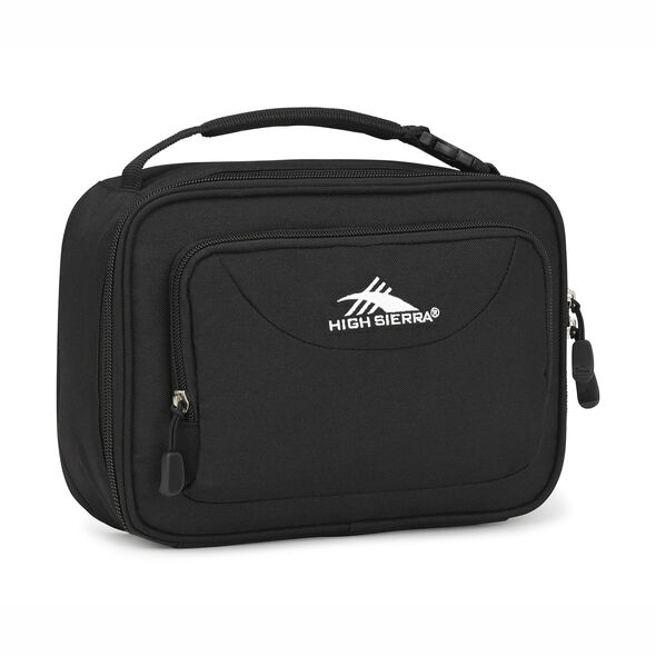 High Sierra Single Compartment in the color Black.
