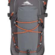 High Sierra HydraHike 8L Pack in the color Mercury/Redline.
