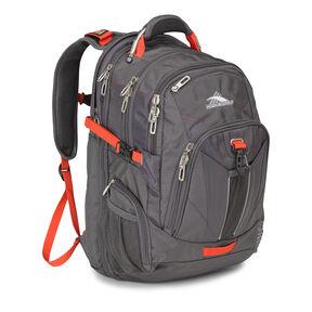 High Sierra XBT TSA Backpack in the color Mercury Crimson.