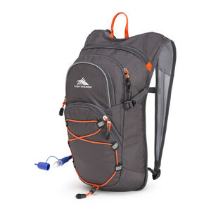HydraHike 8L Pack in the color Mercury/Redline.