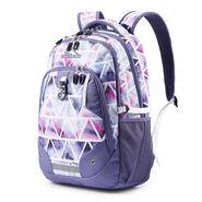High Sierra Zestar Backpack in the color Dreamscape/Purple Smoke.