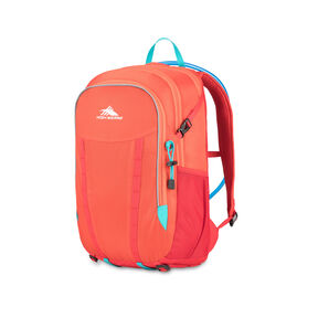 High Sierra HydraHike 24L Pack in the color Redline/Crimson/Turqoise.