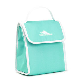 High Sierra Classic Lunch Kit in the color Aquamarine/White.