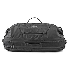 High Sierra Dells Canyon Convertible Duffel Backpack in the color Black/Black.