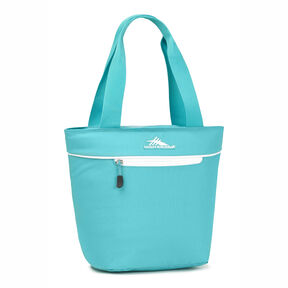High Sierra Lunch Tote in the color Turquoise/White.