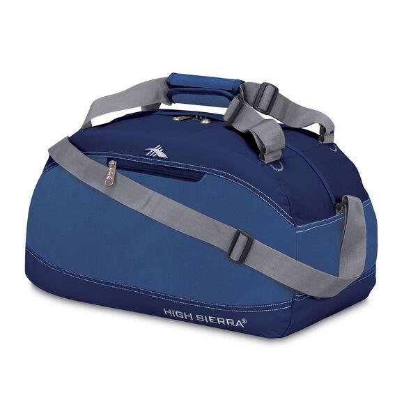 "High Sierra 20"" Pack-N-Go Duffel in the color Pacific/Blue Velvet."