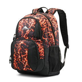 High Sierra Pinova Backpack in the color Fireball/Black.