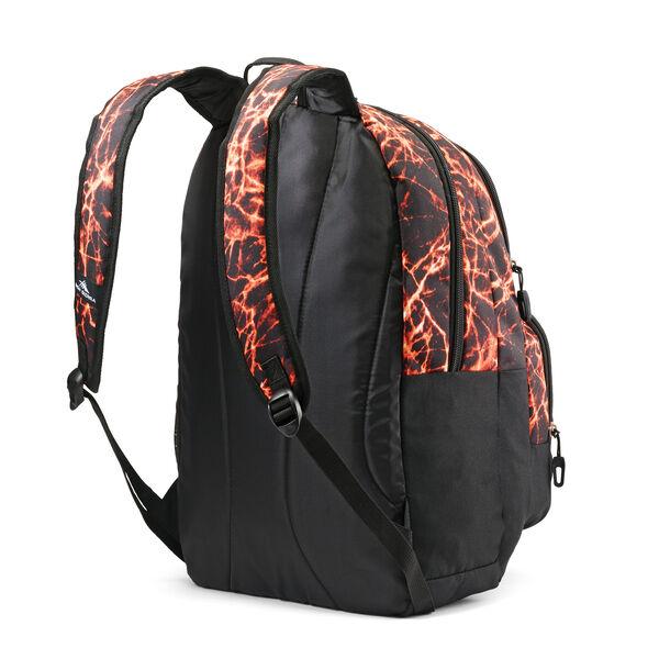 High Sierra Pinova Backpack in the color Fireball/Black.