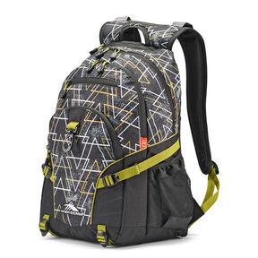 High Sierra Loop Backpack in the color Neo/Black/Avocado.