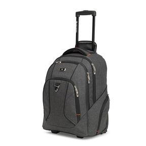 High Sierra Endeavor Wheeled Backpack In The Color Mercury Heather