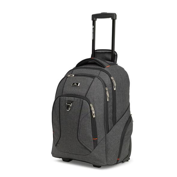 High Sierra Endeavor Wheeled Backpack in the color Mercury Heather.