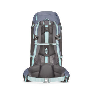 High Sierra Pathway 60L Pack in the color Grey Blue/Mercury/Blue Haze.