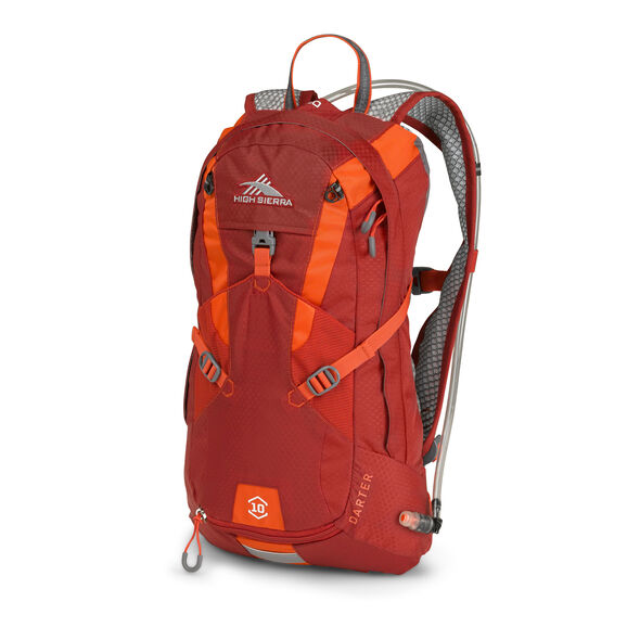 High Sierra Darter Hydration Pack in the color Carmine/Redline.