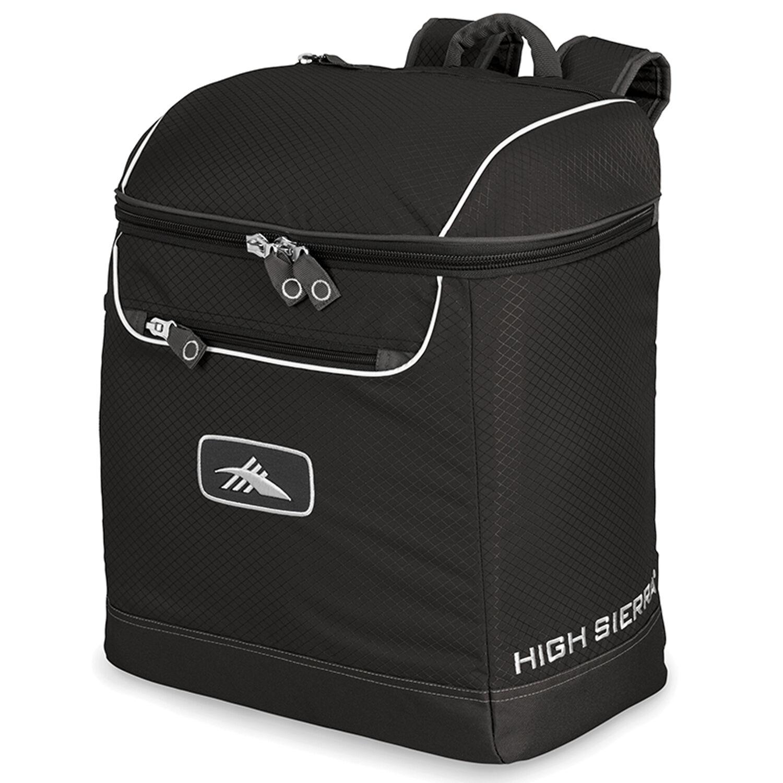 831c40e054234 High Sierra Bucket Boot Bag in the color Black/Black.
