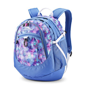 High Sierra Fatboy Backpack in the color Shine Blue/Lapis/White.