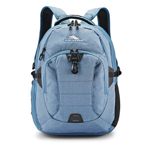 Jarvis Backpack in the color Graphite Blue/Black.