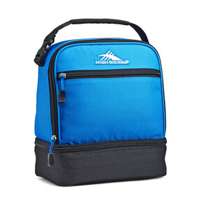 High Sierra Stacked Compartment Lunch Bag in the color Sports Blue/Black.