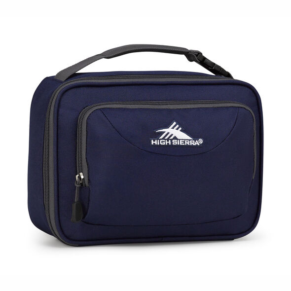 High Sierra Single Compartment Lunch Bag in the color True Navy.