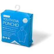 High Sierra Youth EVA Poncho in the color True Navy.