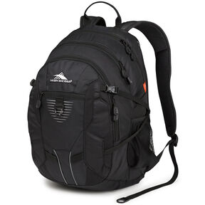 High Sierra Aggro Backpack in the color Black.