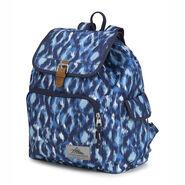 High Sierra Elly Backpack in the color Island Ikat/True Navy.