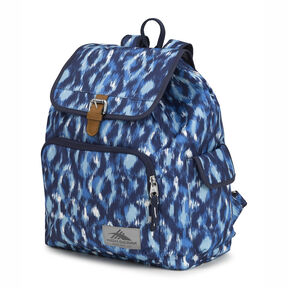 High Sierra Elly Backpack in the color Island Ikat/True Navy.