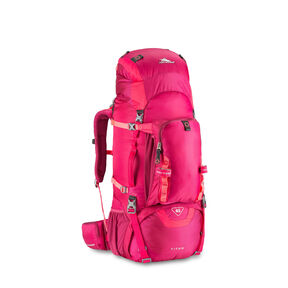 High Sierra Titan 65 Frame Pack in the color Dahlia/Dragon Fruit/Diva.