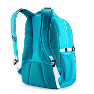 High Sierra Swerve Backpack in the color Sequin Facet/Bluebird/White.