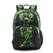 High Sierra Pinova Backpack in the color Lime Fire/Black.