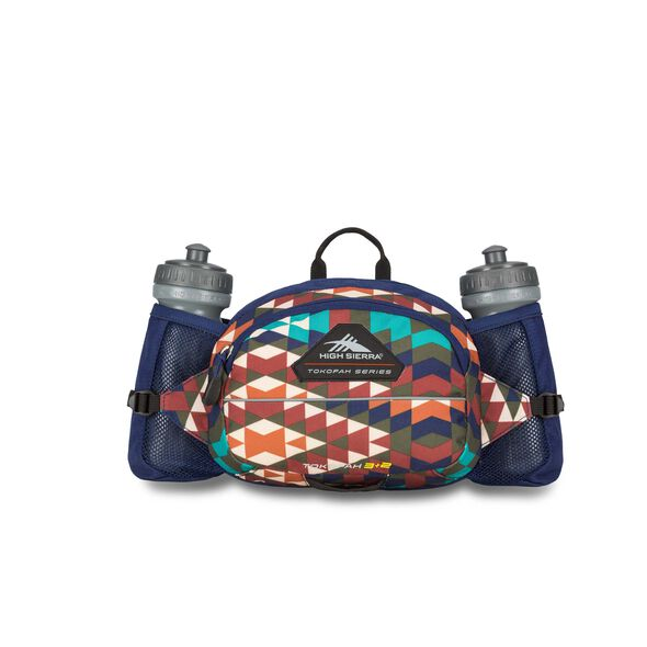 High Sierra Tokopah 3L + 2 Waistpack in the color Georgia/True Navy.