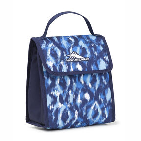 High Sierra Classic Lunch Kit in the color Island Ikat/True Navy.