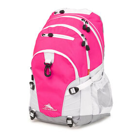 High Sierra Loop Backpack in the color Flamingo Pink.