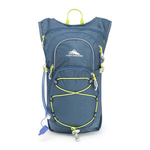 High Sierra HydraHike 8L Pack in the color Graphite Blue/Mercury/Glow.