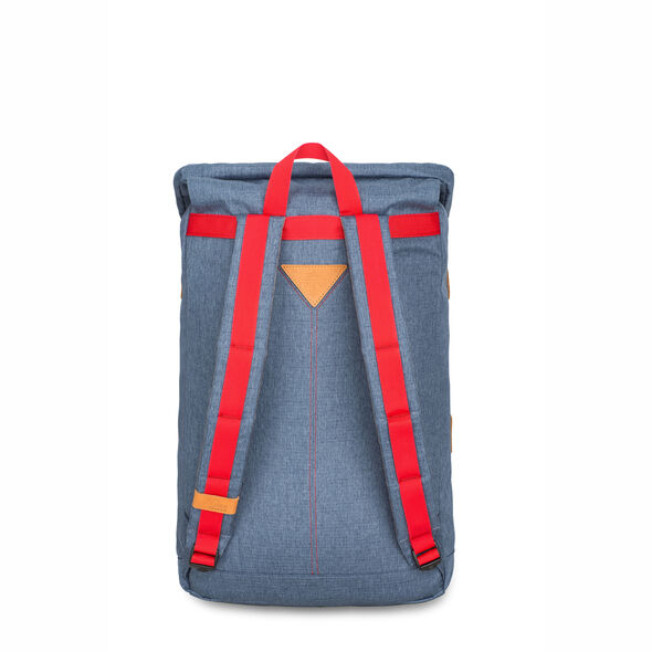 High Sierra HS78 Klettersack Backpack in the color Dusty Blue/Slate/Crimson.