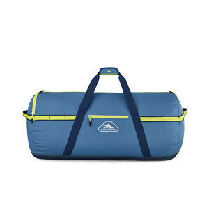 "Packed Cargo Duffles 30"" Medium Duffel in the color Graphite Blue/Rustic Blue/Glow."