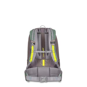 Pathway 40L Pack in the color Pine/Slate/Chartreuse.