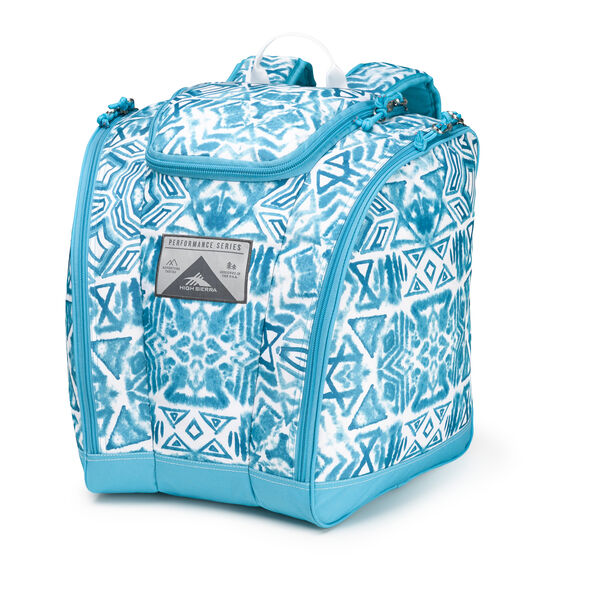 High Sierra Junior Trapezoid Boot Bag in the color Teal Shibori.