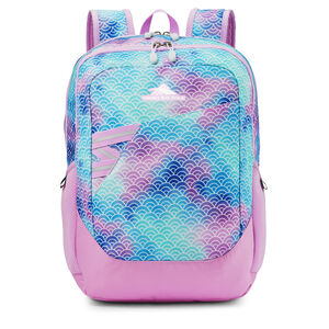 Outburst Backpack in the color Rainbow Scales.