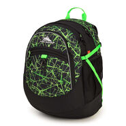 High Sierra Fatboy Backpack in the color Digital Web/Black/Lime.