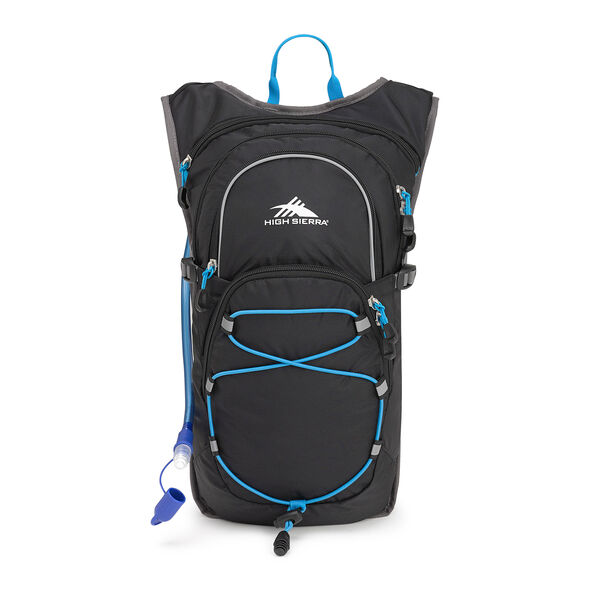 High Sierra Hydrahike 8L in the color Black/Slate/Pool.