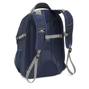 XBT TSA Backpack in the color True Navy/Charcoal.