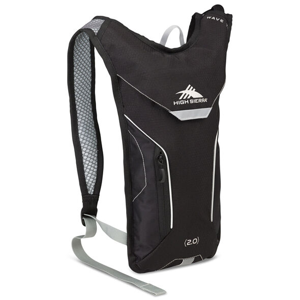 High Sierra Classic 2 Series Wave 70 Hydration Pack in the color Black/Silver.