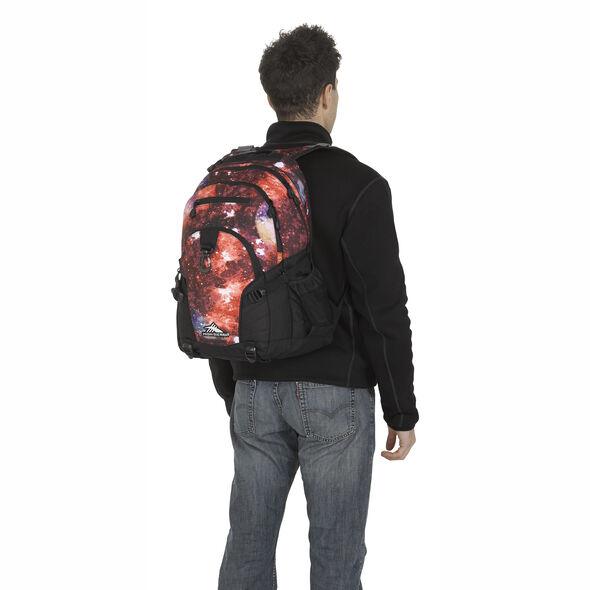 High Sierra Loop Backpack in the color Space Age/Black.